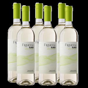 Pack 6 botellas Figueroa Blanco Joven Sobre lías finas